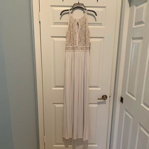 David's Bridal Dress size 4 - Ivory